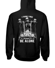 DESIGNED TO BE ALONE T-SHIRT Hooded Sweatshirt thumbnail