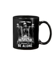 DESIGNED TO BE ALONE T-SHIRT Mug thumbnail