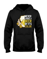 Never judge a beer Hooded Sweatshirt thumbnail