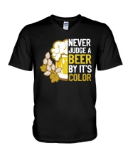 Never judge a beer V-Neck T-Shirt thumbnail