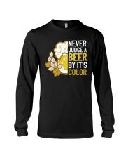 Never judge a beer Long Sleeve Tee thumbnail