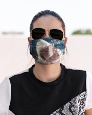 Shark Lovers 4  Cloth face mask aos-face-mask-lifestyle-02