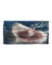 Shark Lovers 4  Cloth face mask front