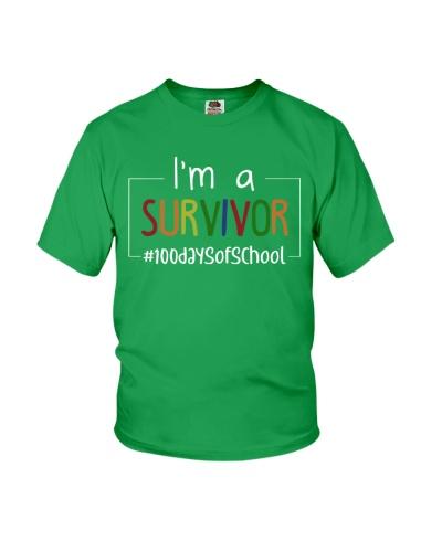 I'M A SURVIVOR 100 DAYS OF SCHOOL