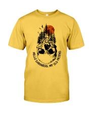 HELLO DARKNESS - MY OLD FRIEND Classic T-Shirt thumbnail