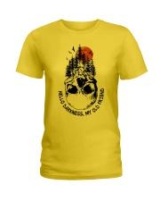 HELLO DARKNESS - MY OLD FRIEND Ladies T-Shirt thumbnail
