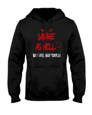 SAVAGE T-SHIRT Hooded Sweatshirt thumbnail