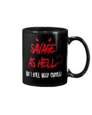 SAVAGE T-SHIRT Mug thumbnail