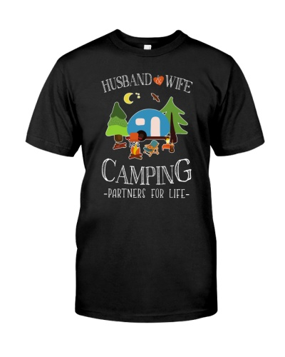 HUSBAND AND WIFE - CAMPING PARTNERS FOR LIFE