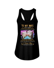 TO MY WIFE I LOVE YOU Ladies Flowy Tank thumbnail