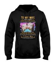 TO MY WIFE I LOVE YOU Hooded Sweatshirt thumbnail