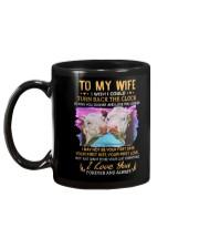 TO MY WIFE I LOVE YOU Mug back