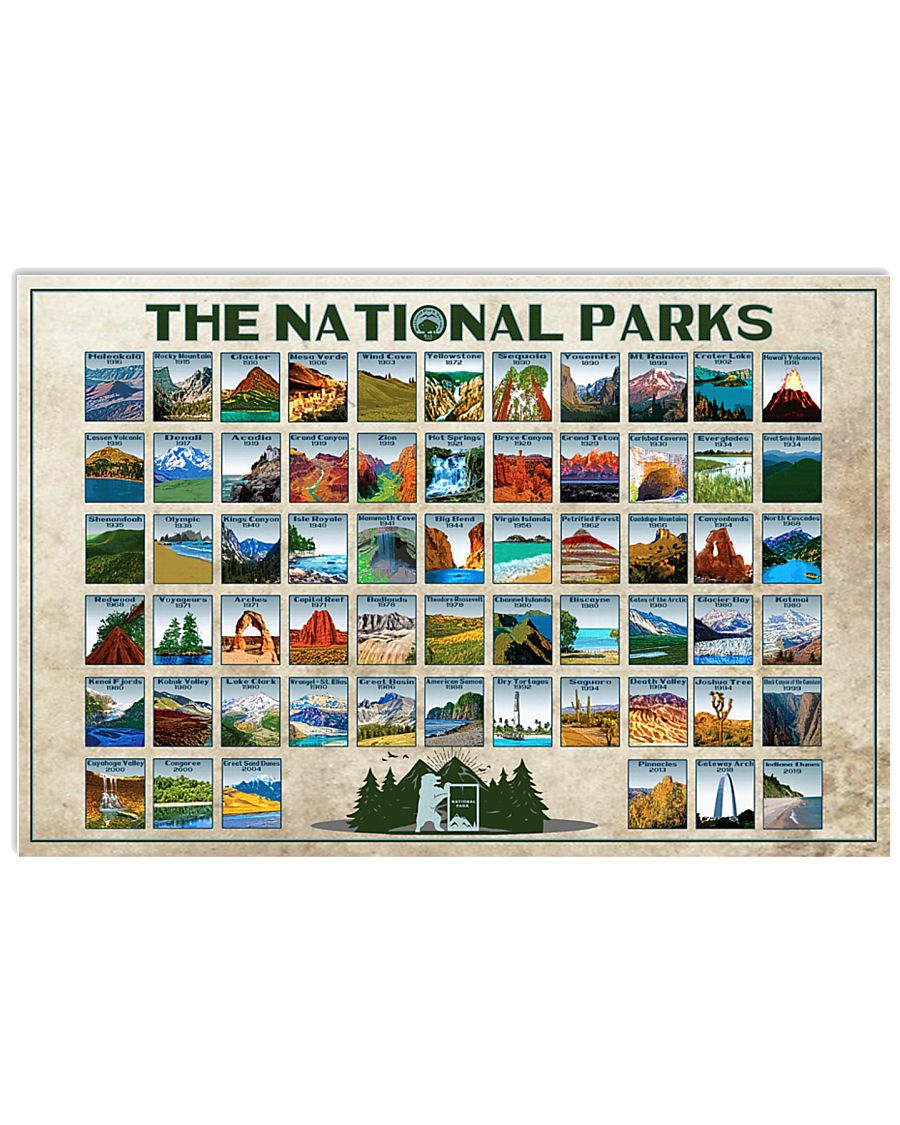 THE NATIONAL PARKS - horizontal - new 24x16 Poster