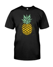 YELLOW PINEAPPLE Classic T-Shirt front