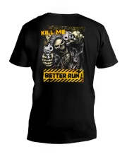 KILL ME V-Neck T-Shirt tile