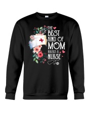 RAISES A NURSE Crewneck Sweatshirt thumbnail