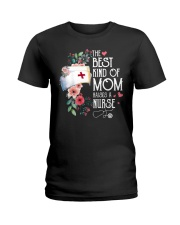 RAISES A NURSE Ladies T-Shirt thumbnail