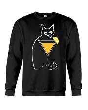 SCREWDRIVER COCKTAIL CAT Crewneck Sweatshirt thumbnail