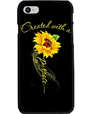 CREATED WITH A PURPOSE Phone Case thumbnail
