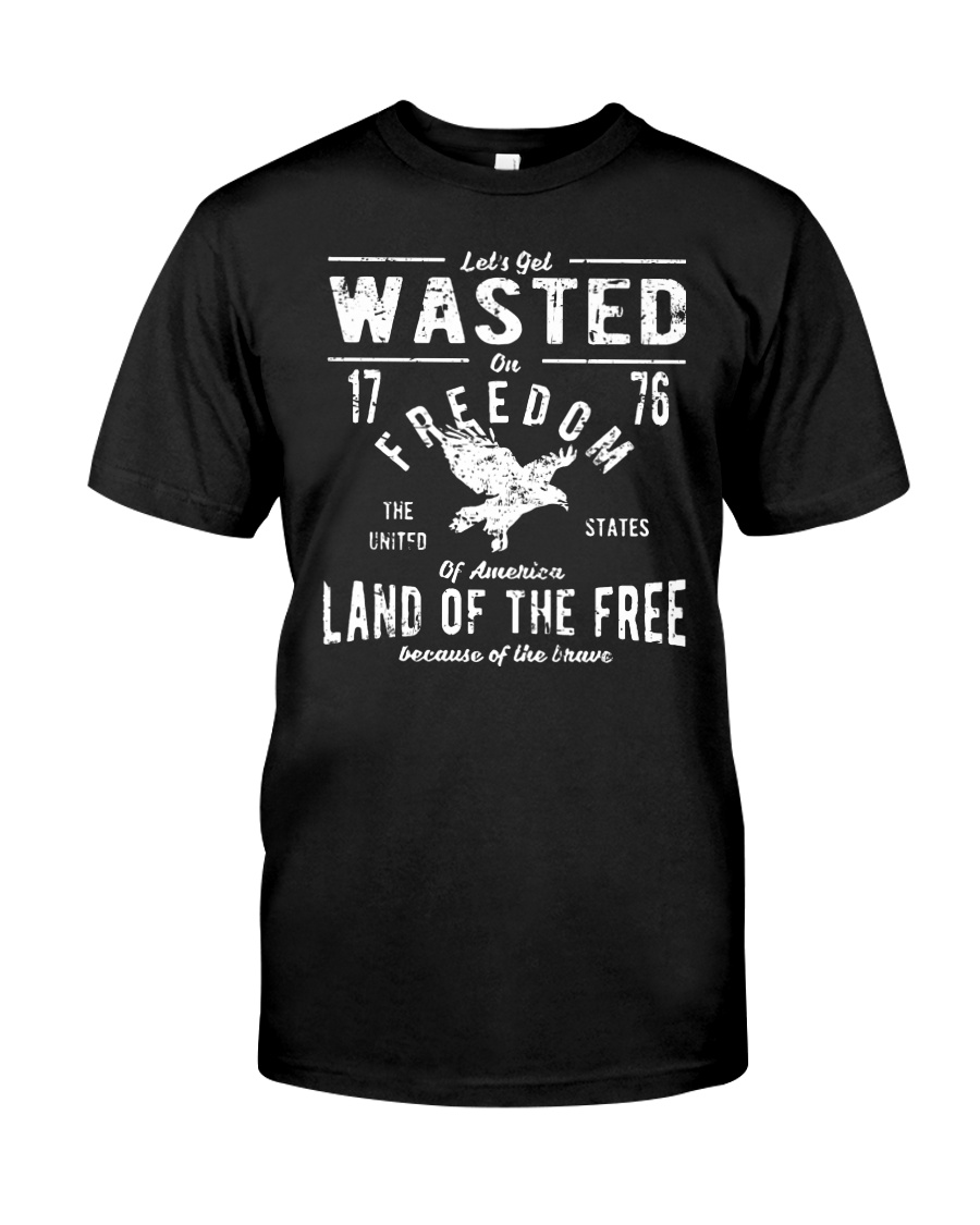 Perfect gift for Independence Day - Wasted Classic T-Shirt
