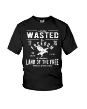 Perfect gift for Independence Day - Wasted Youth T-Shirt thumbnail