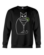 CAT AND MARGARITA Crewneck Sweatshirt thumbnail