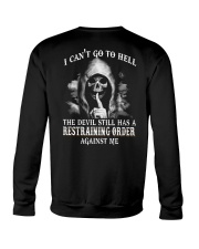 I CAN'T GO TO HELL Crewneck Sweatshirt thumbnail