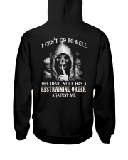 I CAN'T GO TO HELL Hooded Sweatshirt thumbnail