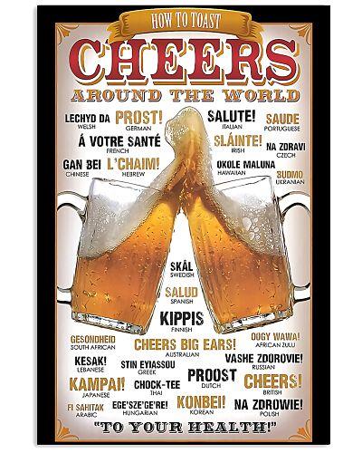 Cheers around the world