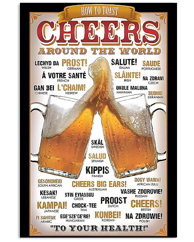 Cheers around the world