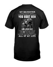 YOU HURT HER Classic T-Shirt back