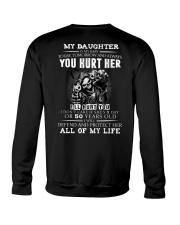 YOU HURT HER Crewneck Sweatshirt thumbnail