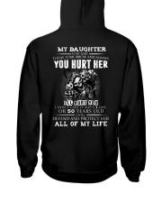 YOU HURT HER Hooded Sweatshirt thumbnail