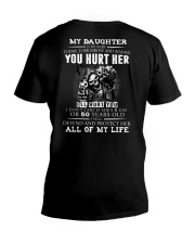 YOU HURT HER V-Neck T-Shirt thumbnail