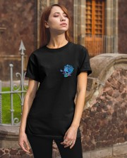 METALLIC SKULL Classic T-Shirt apparel-classic-tshirt-lifestyle-06