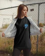 METALLIC SKULL Classic T-Shirt apparel-classic-tshirt-lifestyle-07