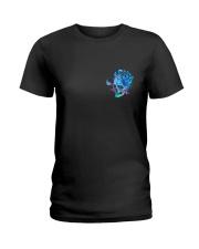 METALLIC SKULL Ladies T-Shirt thumbnail
