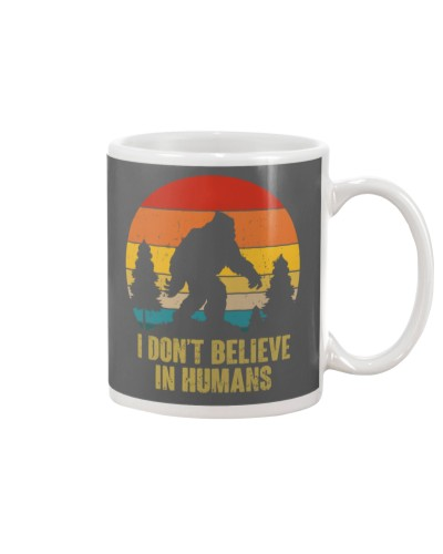 I DONT BELIEVE IN HUMAN T-SHIRT