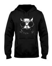 BEST TANK FOR CAT LOVERS Hooded Sweatshirt thumbnail