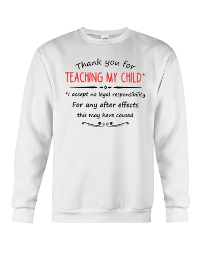 THANK YOU FOR TEACHING MY CHILD