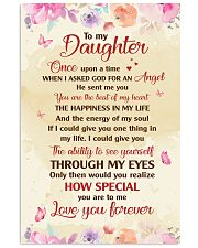 TO MY DAUGHTER LOVE YOU FOREVER 16x24 Poster front