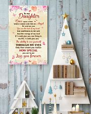 TO MY DAUGHTER LOVE YOU FOREVER 16x24 Poster lifestyle-holiday-poster-2