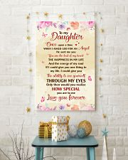 TO MY DAUGHTER LOVE YOU FOREVER 16x24 Poster lifestyle-holiday-poster-3