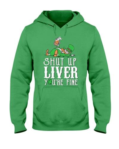 SHUT UP LIVER T-SHIRT