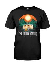 YEP I SLEEP AROUND Classic T-Shirt thumbnail