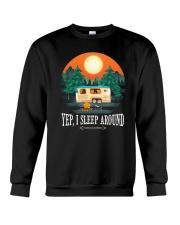 YEP I SLEEP AROUND Crewneck Sweatshirt thumbnail