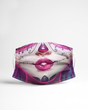 SUGAR SKULL GIRL 2 Cloth face mask aos-face-mask-lifestyle-22