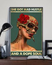 MAD HUSTLE DOPE SOUL 16x24 Poster lifestyle-poster-2