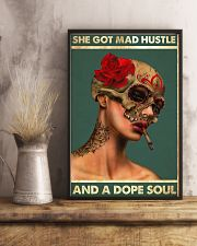 MAD HUSTLE DOPE SOUL 16x24 Poster lifestyle-poster-3