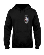 Back The Brave Hooded Sweatshirt front